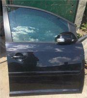 VW Touran 2005 Beifahrertür schwarz