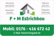 Estrich Estrichbau Estrichverlegung Betonestrich GÜNSTIG