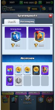 Clash Royale max Account