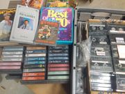 ca 200 Audio Cassetten