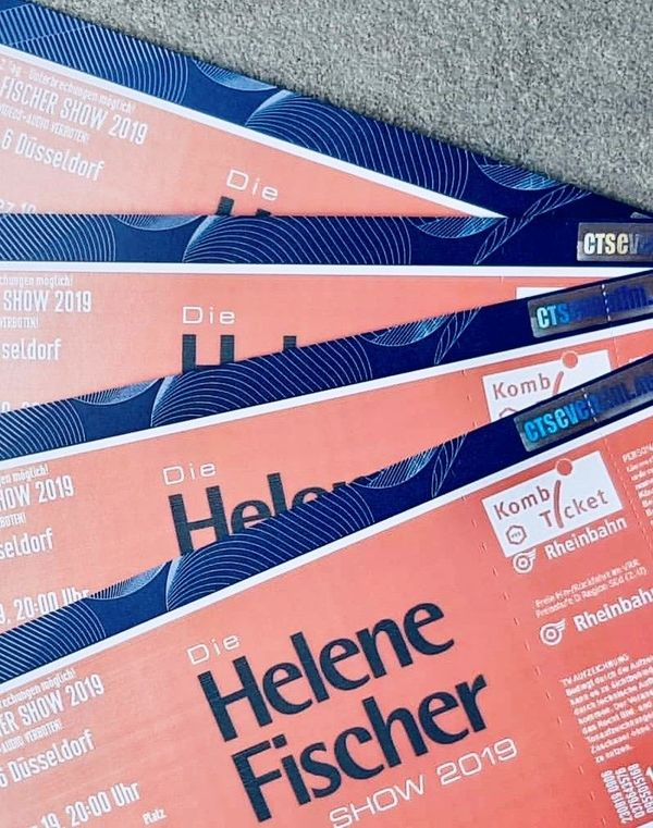 Tausche 4x Helene Fischer Show