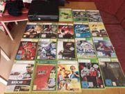 Xbox 360 mit 19 Spielen