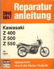 Reparaturanleitung KAWASAKI Z400 500 550