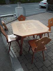 Original Monterfoner Tisch mit 4