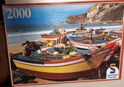 Boote am Strand Puzzle 2000Teile