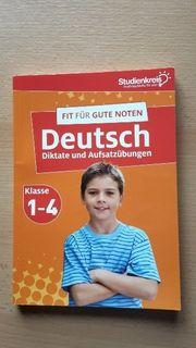 Deutschübungsbuch 1 -4 Klasse