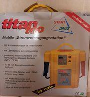 Titan Tec mobile Stromversorgung Start