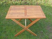 Gartentisch Holztisch H 76 L