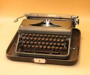 Koffer-Schreibmaschine Triumph Durabel Vintage