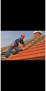 Dachdecker Arbeite dach Velux Garage