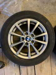 BMW Felgen mit Winterreifen 16