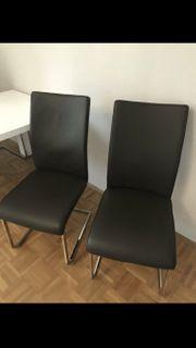 Stühle Freischwinger braun