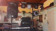 Komplette PA- Musikanlage Lichtanlage für