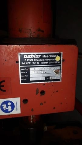 Geräte, Maschinen - Oehler Spaltmaschine