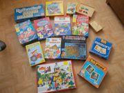 Verschiedene Lernspiele Spiele Memories