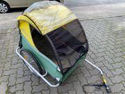 Kindercar Fahrradanhänger für zwei Kinder