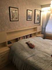 Schlafzimmer komplett mit 2 Spiegelschränken