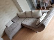 Couch in L-Form WIE NEU