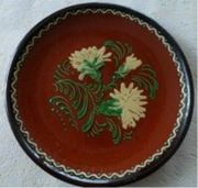 alter Handbemalter Teller Hessische Bauernmalerei