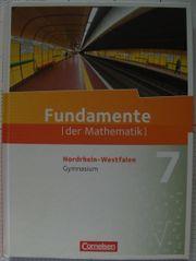 Fundamente der Mathematik 7 NRW