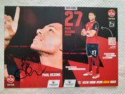 Autogrammkarte Paul Besong 1 FC