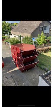 Container Absetz Mulden zu verkaufen