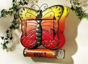 Briefkasten Schmetterling Wandbriefkasten Zeitungsbox Mailbox