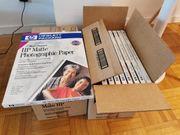 HP Photopapier DIN A4 matt