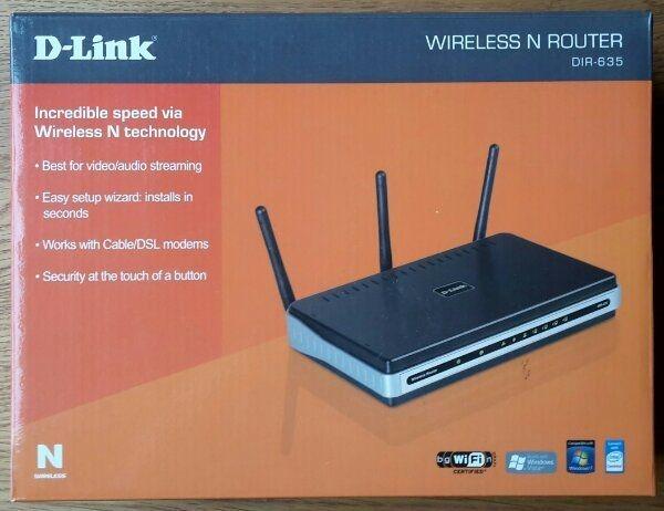 WLAN-Router D-Link DIR-635
