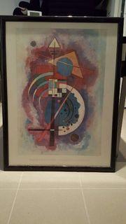 Kandinsky Kunstdruck inkl Rahmen