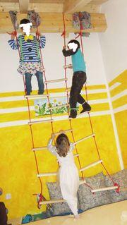 Kletterwand INDOOR Spielplatz Kletternetz auch