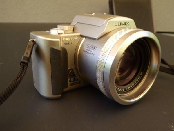 Kamera Panasonic Lumix DMC-FZ 10