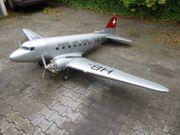 Modellflugzeug DC 3 Spannweite 3