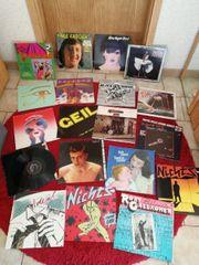 Schallplatten vinyl Platten ca 40