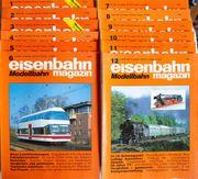 Eisenbahn Magazin Modellbahn Januar-Dezember 1996