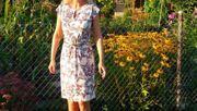 Kleid Damen mit Schmetterlinge