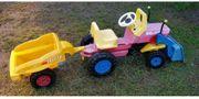 Kinder Traktor Big John mit