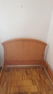 Bettrahmen 100x200 cm Schönes Kirschholz