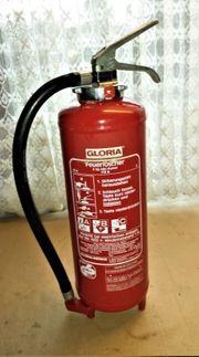 Feuerlöscher Aufladelöscher Gloria 6 kg