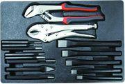 Werkzeug verschiedenes Zangen Meißel 15-teilig