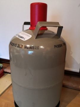 Campingartikel - Gasflasche 11 KG voll Propan