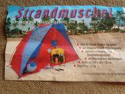 Strandmuschel-Zelt