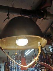 Stahlhelm Lampe