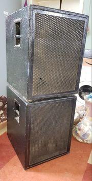 Bassboxen PA XRL