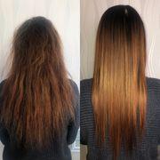 MODELLE GESUCHT Bio Keratin Haarglättung