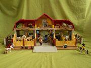 Playmobil Reiterhof Pferdehof mit vielen