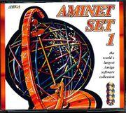 Amiga-AMINET-Set-1-Sammlung-4-CD-ROMS-für-Amiga