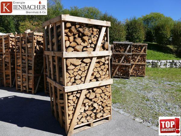 Eichenholz 2rm Box Mit Trockenem Ofenfertigem Ca 30cm Scheite