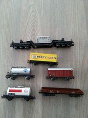 Märklin Waggons Wagen Zug Eisenbahn