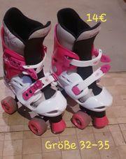 Gebrauchte Rollschuhe für Mädchen Größe